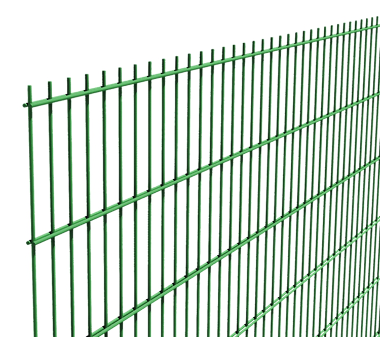 Pvc Coated Used Double Horizontal Wire Mesh/twin Wire Fence - Buy ...