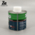 metal round glue can tin container with brush