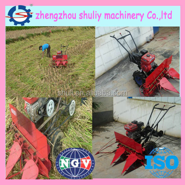 High quality rice reaper/wheat harvester machine/barley reaper with best price