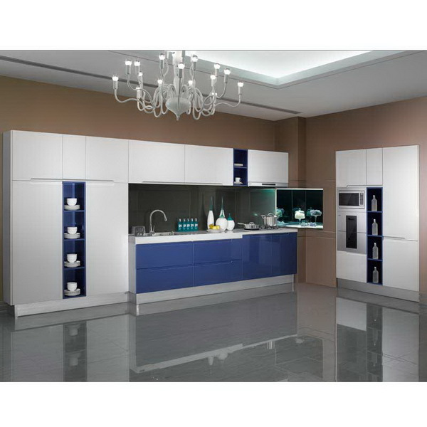 2016 High Quality Ready Made Furniture High Gloss Lacquer Kitchen