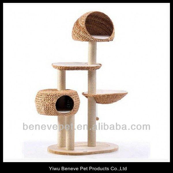 arbre chat avec naturel banane feuilles jouets pour animaux domestiques id de produit. Black Bedroom Furniture Sets. Home Design Ideas