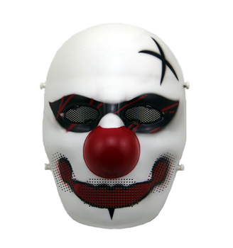 Party City Christmas Jester Joker Halloween Scary Clown Masks ...