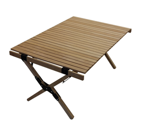 2019 New Style Beech Wood Portable Folding Camping Table