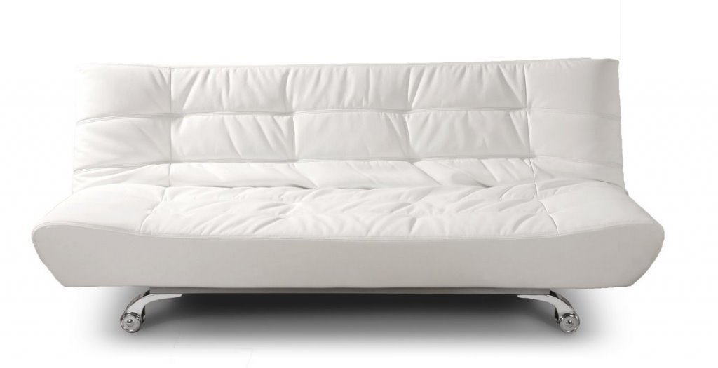 Creative Sofa Bed M04 White Pu Material Product On Alibaba