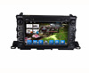 "9"" Car DVD Player WiFi Radio Car Gps For 2015 Highlander with Bluetooth FM DVD SD USB"