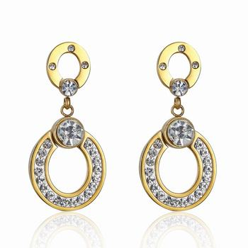 316l Stainless Steel Gold Earring Designs Stani