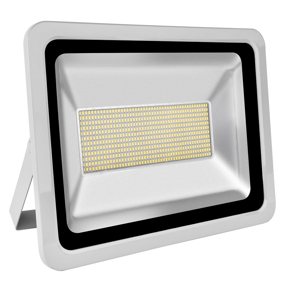 Coolkun 10/20/30/50/100/150/200/300/500W LED Flood Lights,Super Bright Work Lights, Outdoor and Indoor IP65 Waterproof Security Light for Garage, Garden, Lawn and Yard (300W Daylight White)