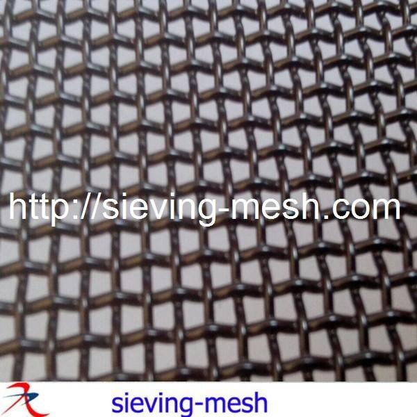316l black powder coated stainless steel mesh screen