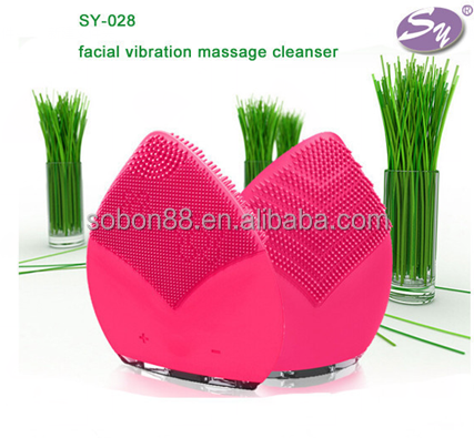 Free Sample Silicone Facial Brush Silicone Face Washing Brush Sonic Cleaner OEM