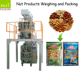 Nut Products Weighing and Packing Machine System