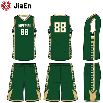 5291cd4c307f Plain dry fit team wear customized college latest basketball jersey design  2016 color green