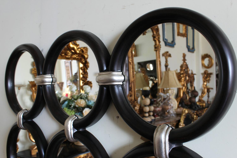 Runde Spiegel Rund Verbunden Dekorative Gerahmte Spiegel Für Wand ...