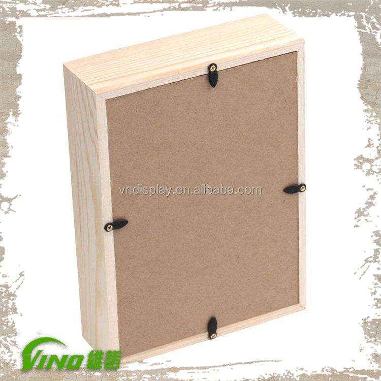 Kommerziellen Holz Shadow Box Rahmen Großhandel,Platz Wand Montiert ...