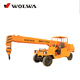 cheap mini 4 wheel 4 ton truck crane
