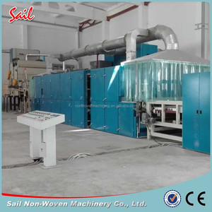 Nonwoven multi-functional fabric oven nonwoven carpet drying machine