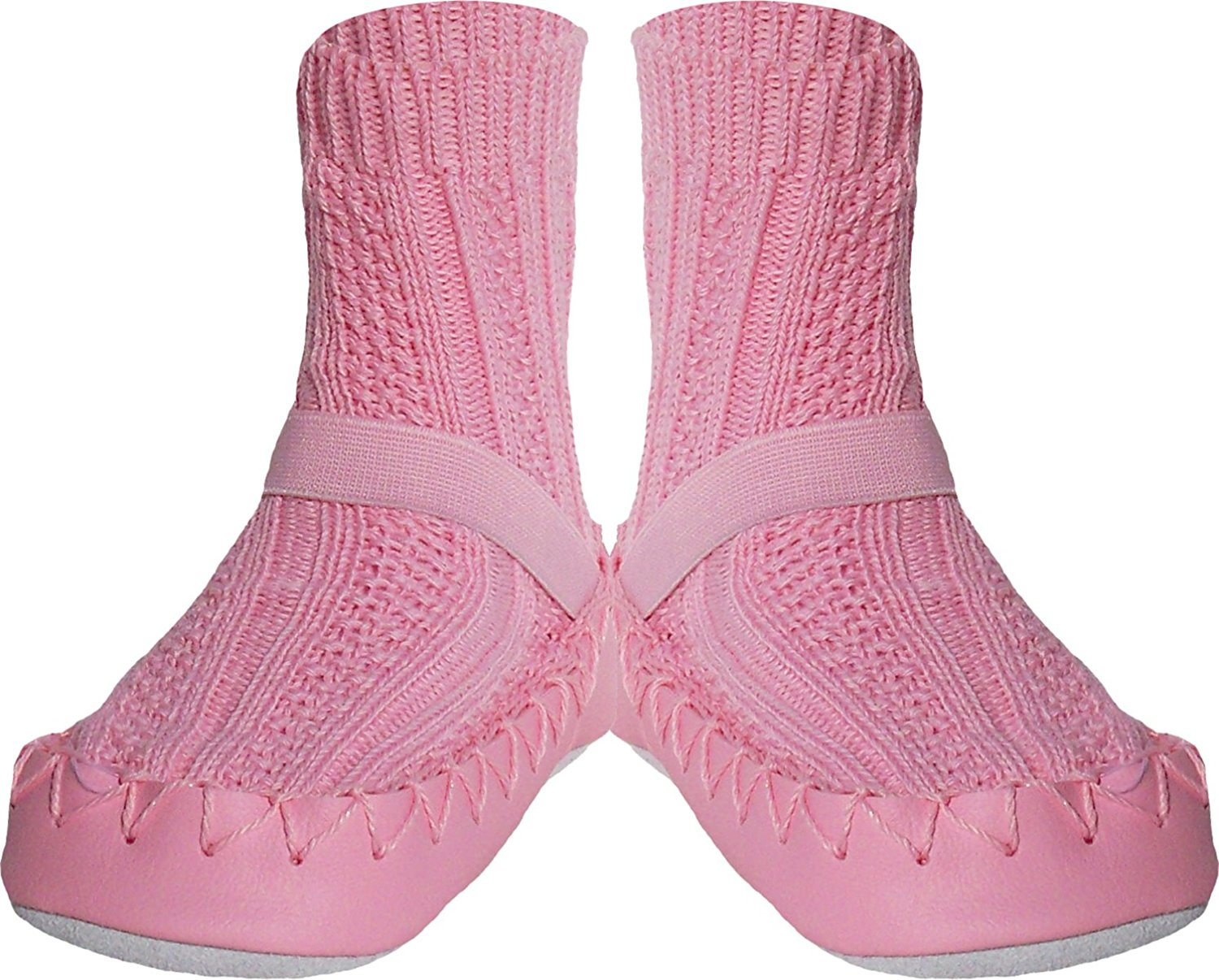 Girls Slipper Socks Pre-Schoolers and Children Home Footwear for Toddlers Konfetti Puppy Dog Swedish Moccasins House Slippers Shoes