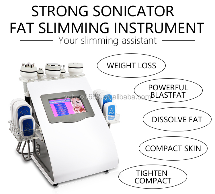 Low Price Weight Loss Kim 8 Ultrasonic Cavitation Slimming System Machine