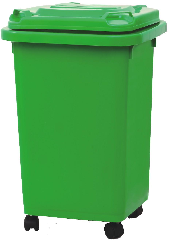 Jardin en plastique poubelles 50l / arrière charge bacs ...
