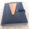 leather cover colored flash memory notebook with usb