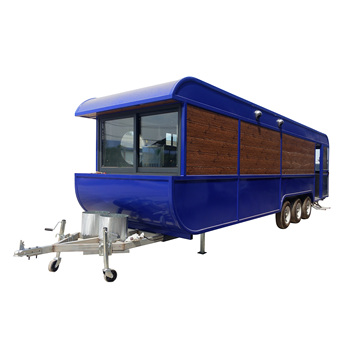 China Supplier CE Approval Customized Street Mobile Fast Food Truck For Ice Cream, Hot Dog