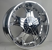 20 inch chrome alloy wheel rims for SUV car with pcd 139.7 wheels(ZW-J572)