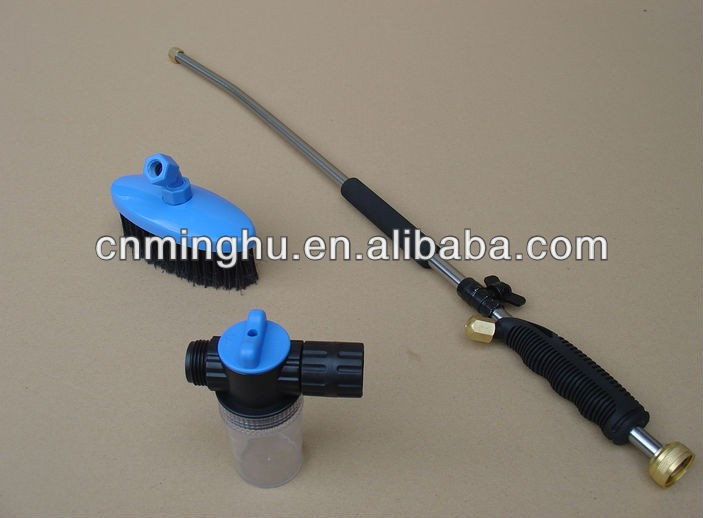Pressure Washer Gun >> Soap Dispenser And Rotating Brush High Pressure Car ...
