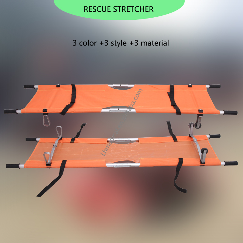 High Quality Foldable Rescue Stretcher With Wheels - Buy ...