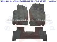 Wholesale Customized High Quality Rubber Floor Car Mat carpet for LAND CRUISER 100 1998~2007
