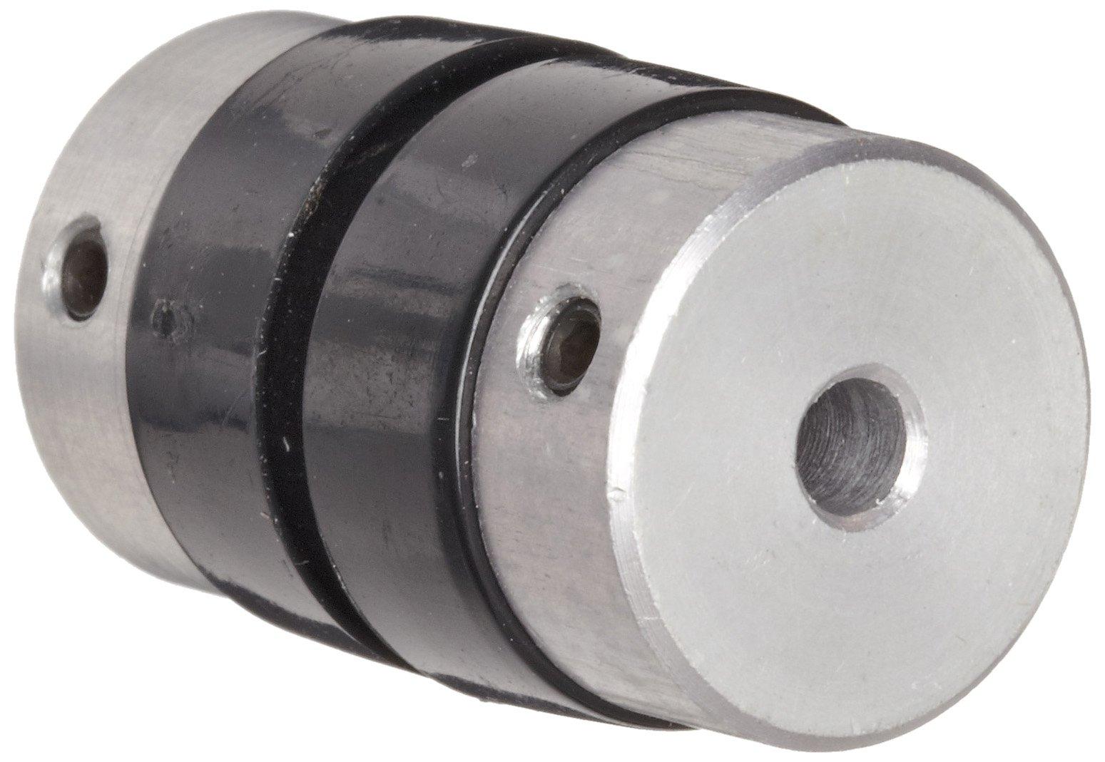 "Boston Gear FCP211/8 Shaft Coupling, Sleeve Type, 0.125"" Bore, 0.578"" Outside Diameter, 0.938"" Overall Length"