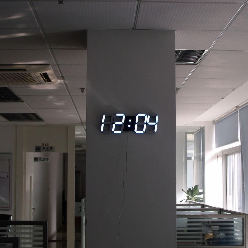 3d grande design moderno digitale timer 24 12 della tabella dello scrittorio led scheletro. Black Bedroom Furniture Sets. Home Design Ideas