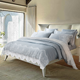 European-style washed pure silk and cotton lace bedding sheet 4pcs