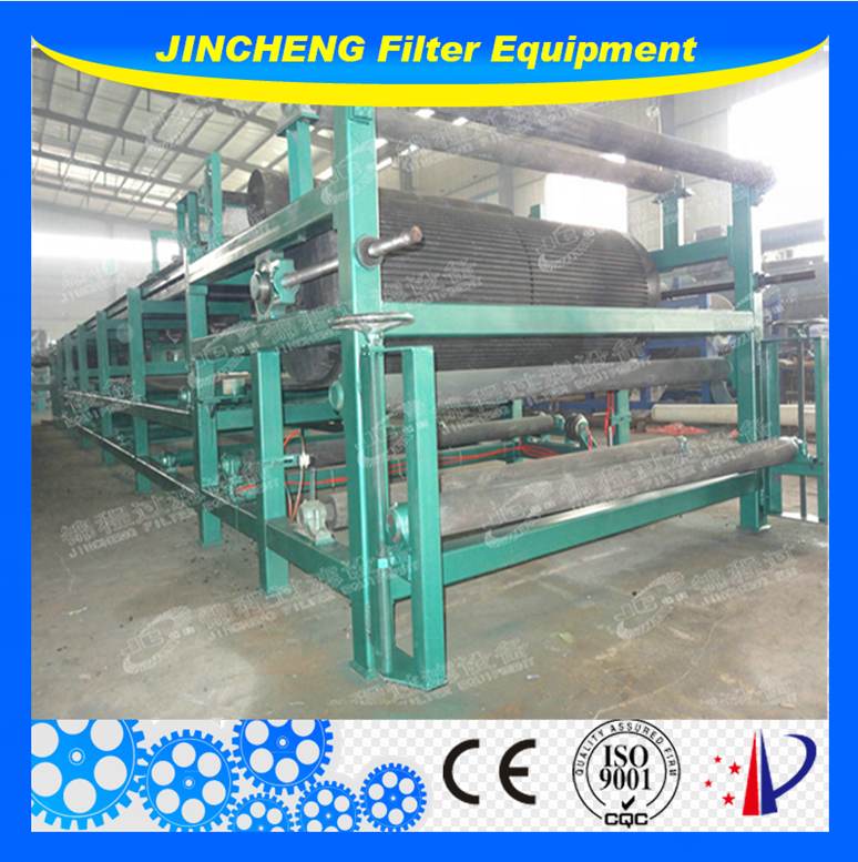 Belt Vacuum Filter Press for Mine/Chemical sewage , Vacuum Belt Filter Press for industrial sewage solid-liquid seperation
