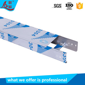 SS304 SS316 Stainless Steel Cable Tray Heavy Duty Cable Tray Ladder Price List