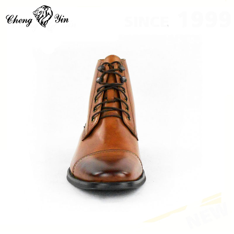 shoes quality High comfort leather men boots men luxury genuine soft formal vvFwrq6d