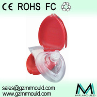 disposable cpr mask pouch style with case