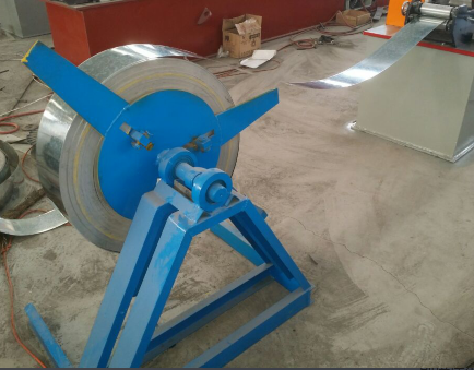 Plaster board ceiling c u omega section making roll forming machine
