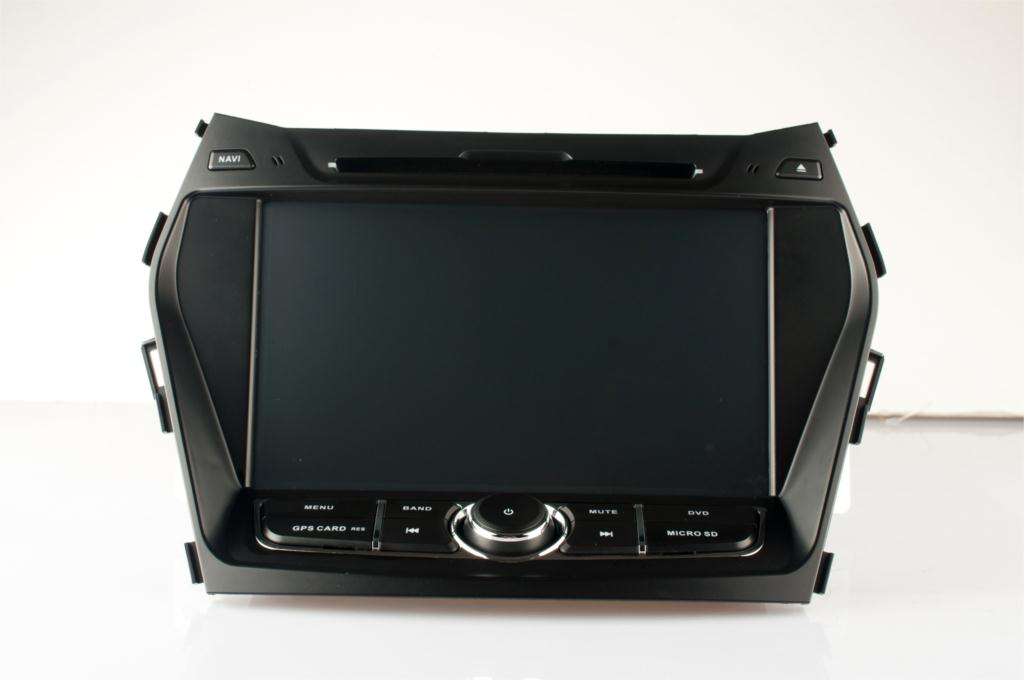 Free Shipping 7'' Android 4.4 Car DVD Player For Hyundai IX45 2013 Santafe 2013 With 8G SD Card GPS Quad Core 16G 800*480