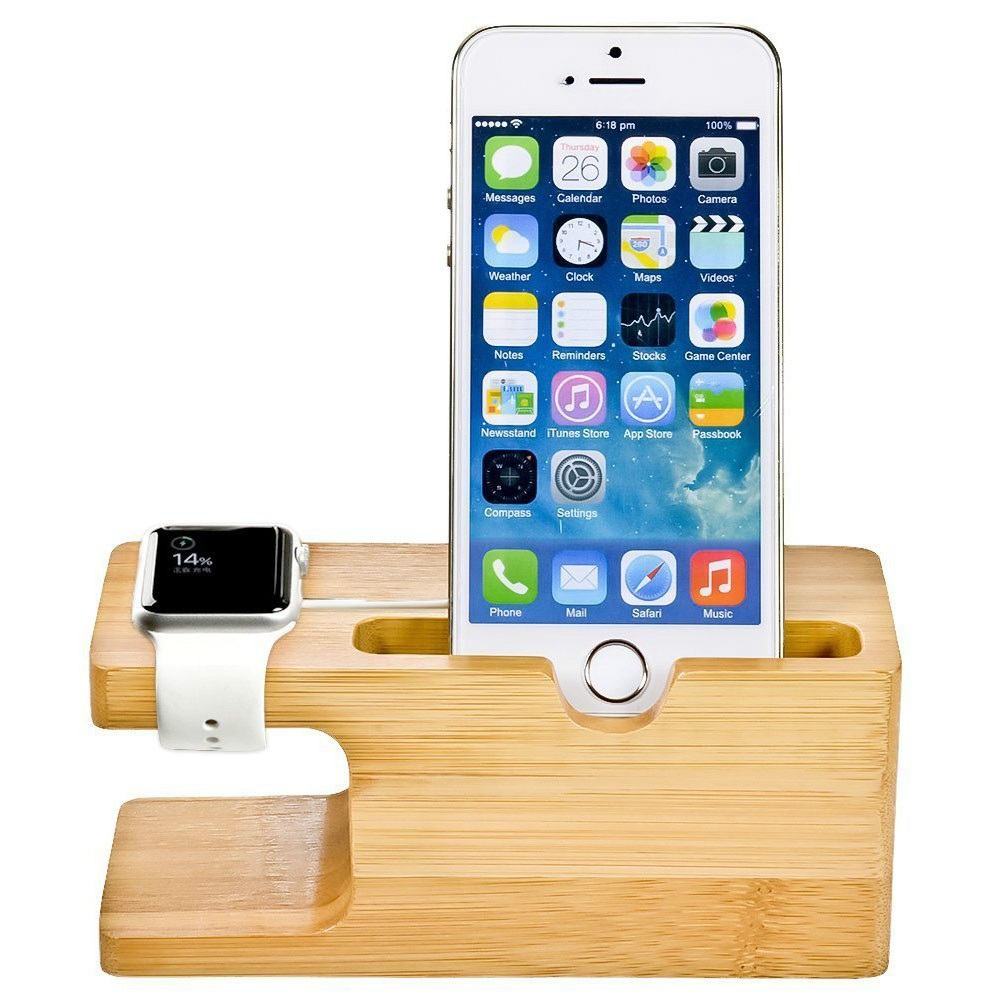 2 in 1 Mobile Charger Stand for All APPLE iPhone 6S PLUS 6 5s iWatches