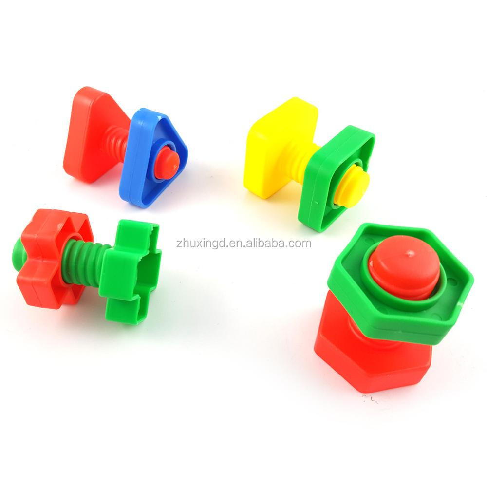 Bolts Birds Toys Parrot, Chewing Toy Plastic Screw Parts, Medium Large Parrots Macaws Cockatoos