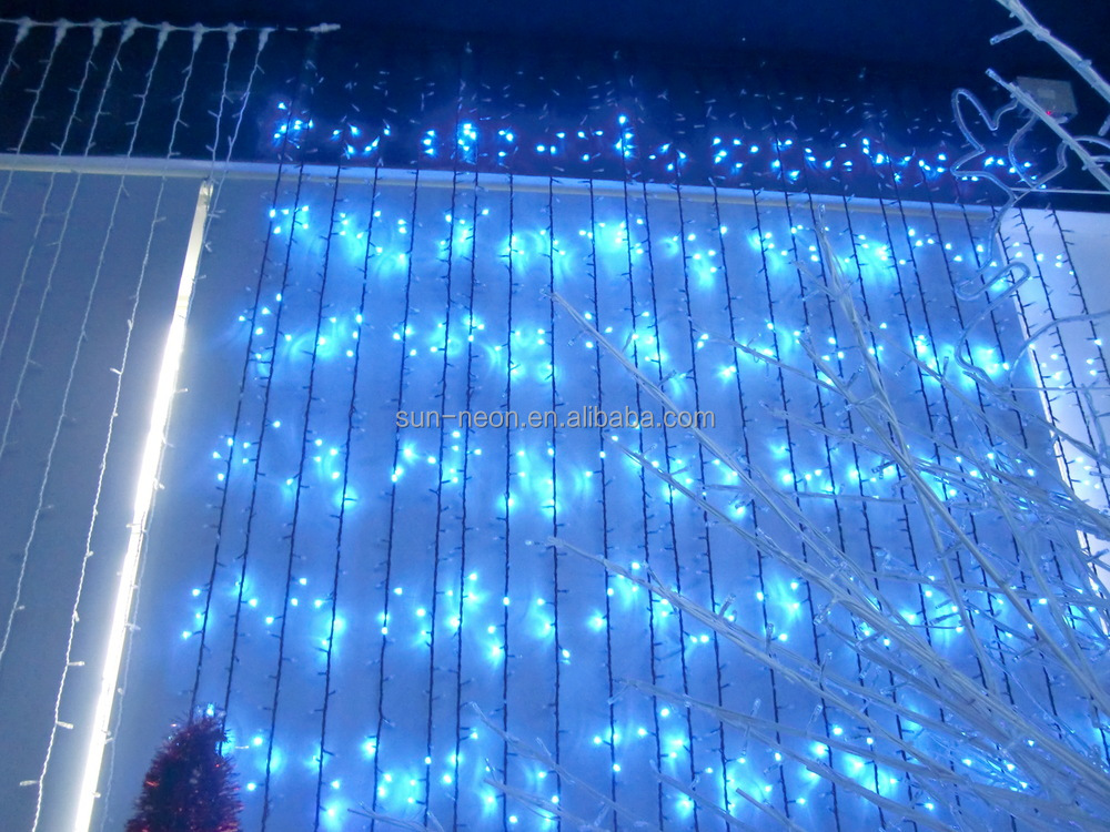 waterfall christmas lights led curtain light - Waterfall Christmas Lights