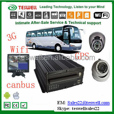 2015 Teswelltech Mobile DVR/Mobile Digital Video Recorder1080p/3g& 4ch Mdvr dvr h264 cms free software