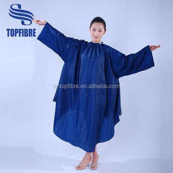 A10032 Beautiful Hairdressing Salon Gowns With Sleeves - Buy Salon ...