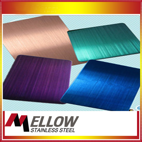 Mellow Titanium Coated Stainless Steel Sheet Sus304 Ti- Colored ...