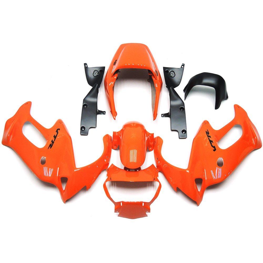 Sportfairings ABS Body Kits Orange Motorcycle Fairing Kits For Honda VTR1000F Firestorm 97 - 05 Year 1997 1998 1999 2000 2001 2002 2003 2004 2005
