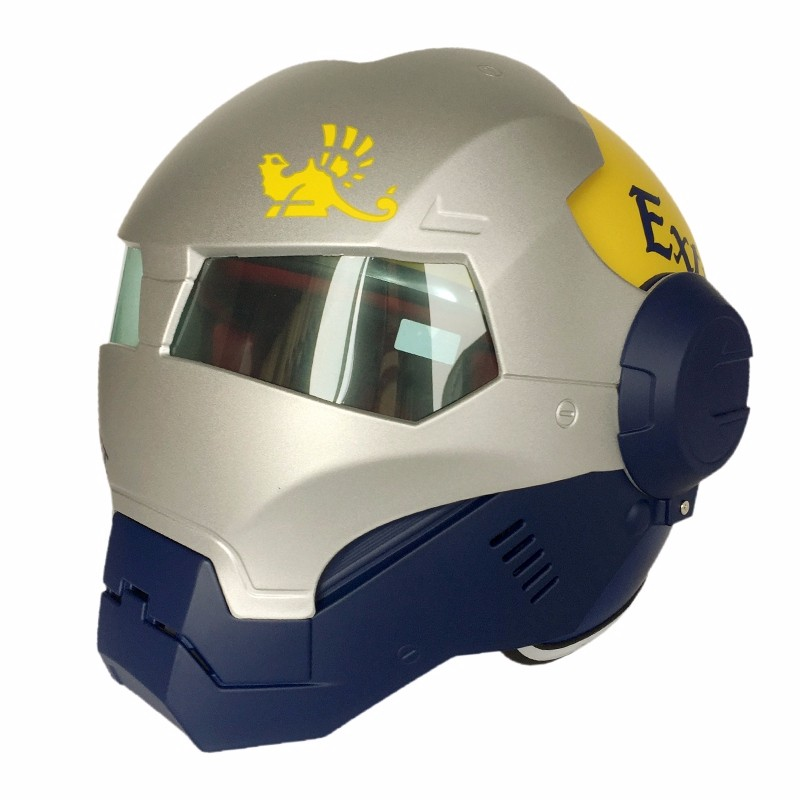 Hot Sales Iron Man Skull Motorcycle Helmet Casco Bike Capacete Masei 610