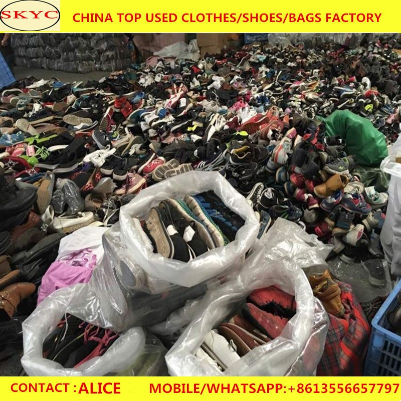 Cheap wholesale second hand cream shoes, Unsorted used shoes for sale in dubai