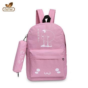 Promotional Women Name Brand Oxford Backpack Bag Simple Design