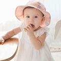 4 12M Toddler Infant Hats Sun Cap Summer Outdoor Baby Girl Hats Beach Bucket Hat LD789