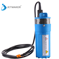 Jetmaker 12V DC Solar Submersible Water Pump For Pakistan Irrigation Blue Color