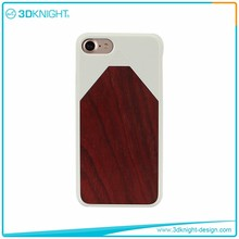 Attractive Appearance wood case for iPhone 7/genuine wood real hard wood bamboo phone case